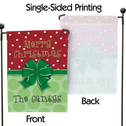 Personalized Merry Christmas Garden Flag 83069452