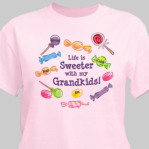 Life Is Sweeter Personalized T-shirt 3895x
