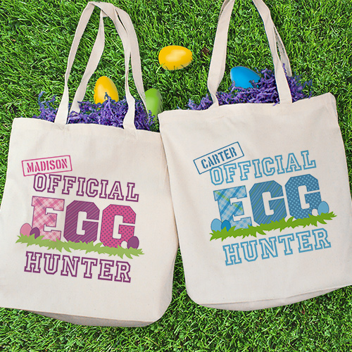 Personalized Official Egg Hunter Tote Bag 874582