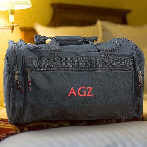 Embroidered Travel Duffel Bag | Best Selling Father's Day Gifts