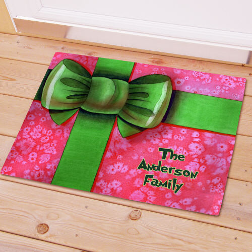 Personalized Christmas Gift Doormat 83138137