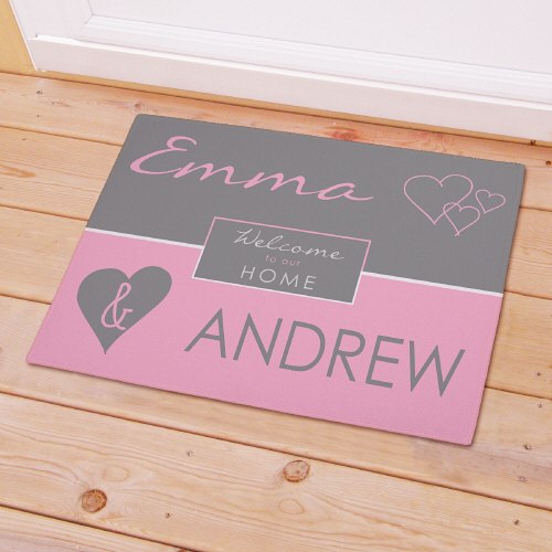 Personalized Welcome To Our Home Doormat 83173307X