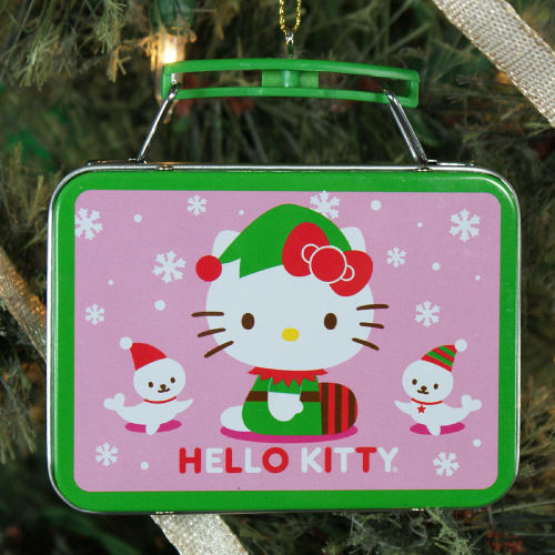 Hello Kitty Tin Lunch Box Ornament NP00034