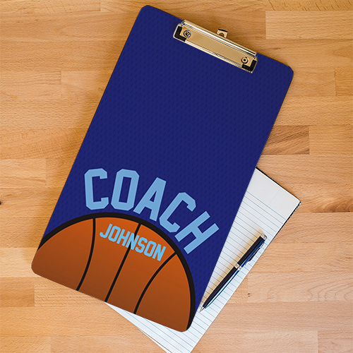 Personalized Basketball Dry Erase Clipboard U677424X