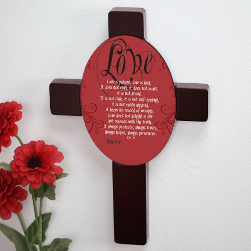 Love is Patient... Keepsake Wall Cross 631858