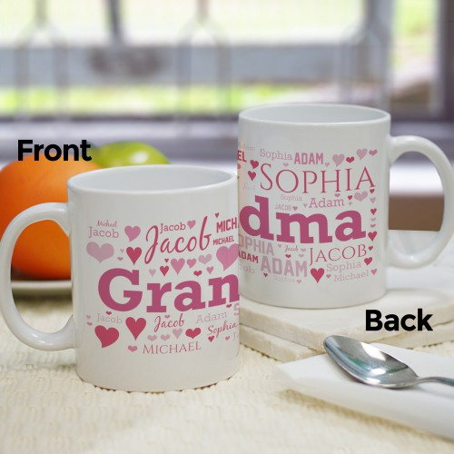 For Her Word-Art Coffee Mug | Mother's Day Coffee Mug