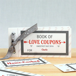 Personalized Love Coupon Book For Him 11004817