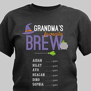 Personalized Grandma's Brew T-Shirt 310633X