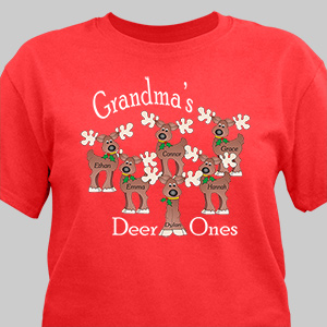 Deer Ones Personalized T-Shirt 33646X