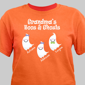 Personalized Halloween T-Shirt | Personalized Halloween Shirts