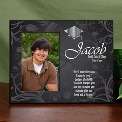 Personalized Graduation Blessing Printed Frame