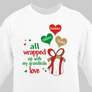 Personalized Christmas Sweatshirt