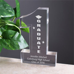 Number One Graduate Personalized Keepsake