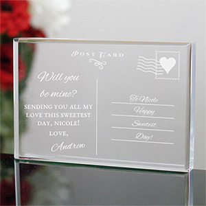 Personalized Postcard Keepsake