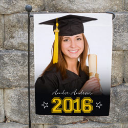 Graduation Photo Garden Flag 83093592X