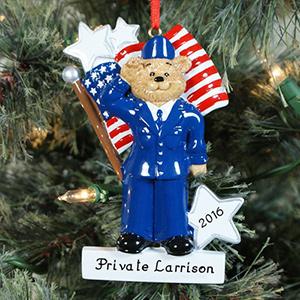 Personalized Air Force Ornament