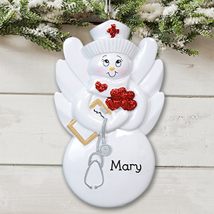 Nurse Ornament | Personalized Nurse Ornaments