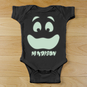 Personalized Glow In The Dark Infant Creeper