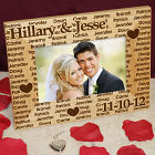 Abernook Wedding Wood Picture Frame
