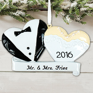 Bride and Groom Ornament M988632