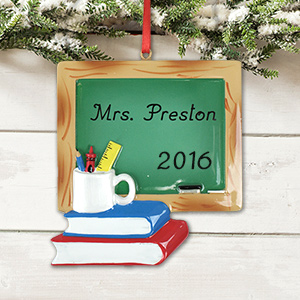 Teacher Chalkboard Ornament M989845