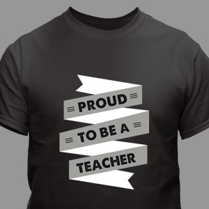 Personalized Proud To Be T-Shirt