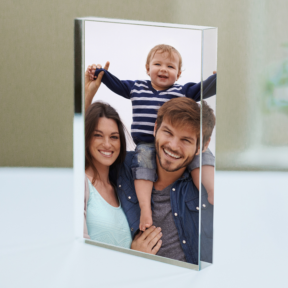 Personalized Family Photo Acrylic Keepsake | Photo Gifts