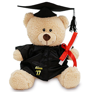 Personalized Graduation Teddy Bear | Graduate Gifts