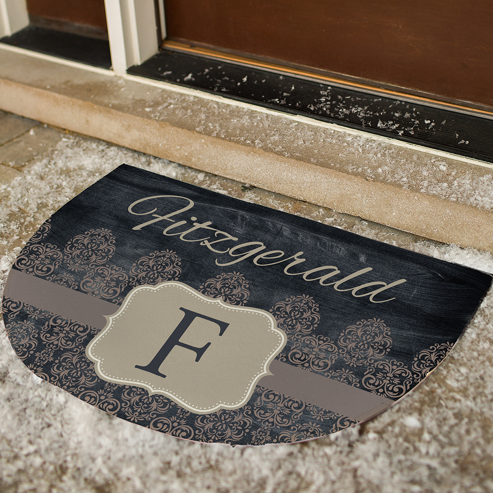 Personalized Vintage Family Doormat | Personalized Doormats