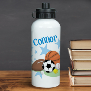 Personalized Sports Fan Water Bottle