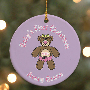 Baby's First Christmas Ornament U373810