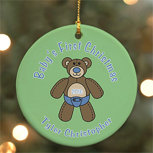 Baby's First Christmas Ornament U373910