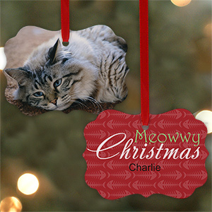 Personalized Cat Photo Ornament U690130