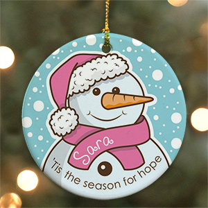 Breast Cancer Awareness Ornament U719910