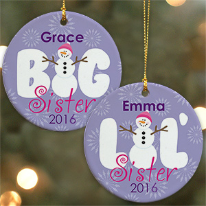 Sister Ceramic Christmas Ornament U799710