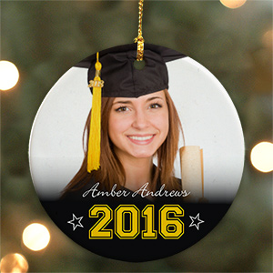 Graduation Photo Ornament U935910