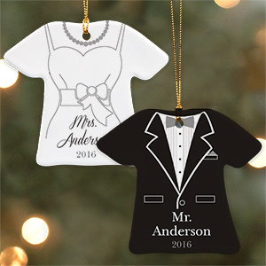 Personalized Wedding Ornament U963363