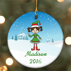 Holiday Character Ornament | Personalized Christmas Ornaments for Kids