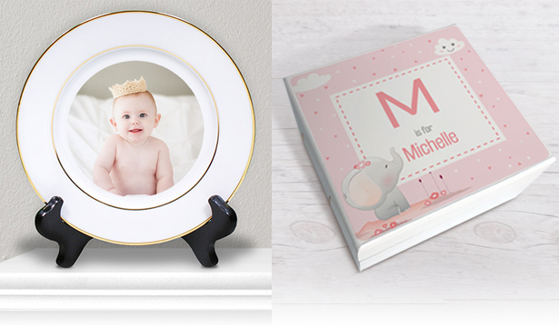 Personalized Baby Keepsakes & Gifts