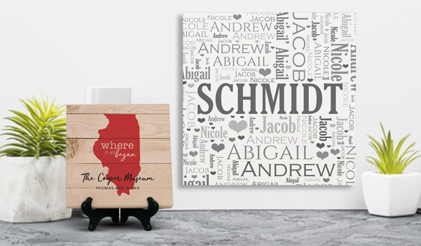 Personalized Wall Canvas Prints & Wall Decor