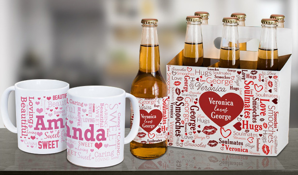 Personalized Valentine's Day Mugs