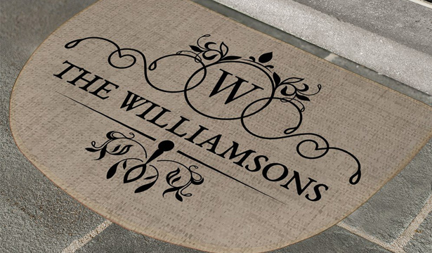 Personalized Doormats and Welcome Mats