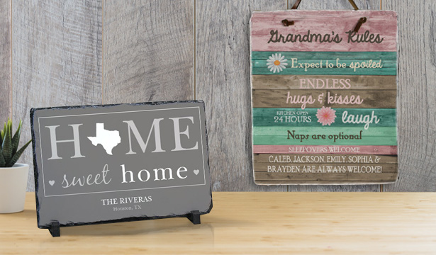 Personalized Slate Signs