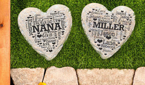 Personalized Outdoor Decor