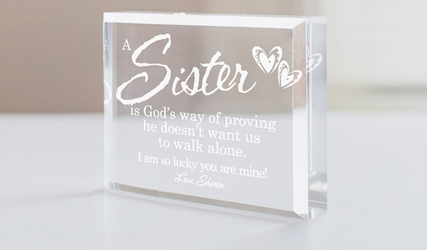 Personalized Sister Gifts