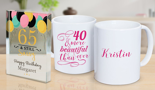 Personalized Birthday Gifts for Her