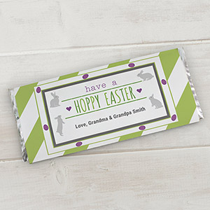 Personalized Easter Candy Wrappers | Personalized Candy Wrappers