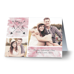 True Love Photo Card | Personalized Valentines Cards