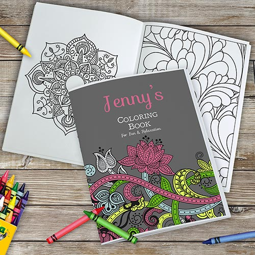 Personalized Mother's Day Coloring Book | Personalized Grandma Gifts