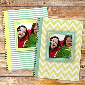 Personalized Photo Notebook Set of 2